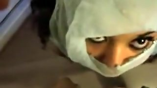 Hijab Girl Gets A Facial