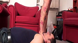 Ladies Smother Slaves With Their Feet