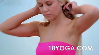 Teen Dido Angel In Yoga Creampie