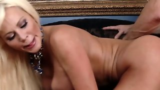 Mature Pounded Doggystyle And Jizzed On Face