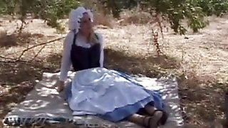 Oral, Facials, Group Cumshot, Maid Group, Blonde Outdoor, Mai D, Outdoor Cum, Oral Blowjob
