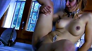 Sex In The Kitchen With A Hot Maid