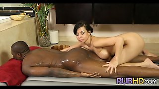 Interracial Asian Massage Therapist