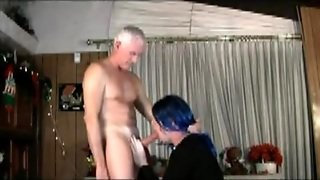 Mature Stud And Horny Shemale