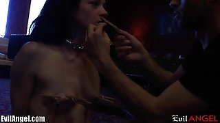 Evilangel Stoya And James Deen Bondage