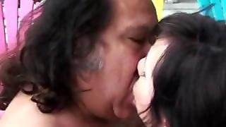 Ron Jeremy With Teen