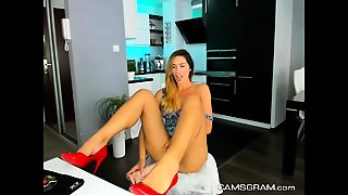 Pretty Teen Webcam Masturbation