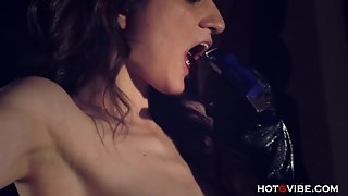 Forced Lesbian Squirting Tied Up Femdom