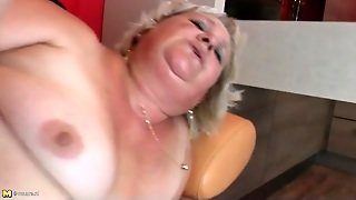 Fat Hairy Granny Fucked By Young Dick