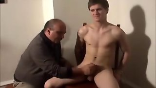 Old Man Helping Hand Twink