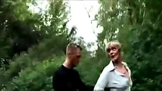 Oral With A Blonde In Public