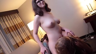 Lesbians Dp With Tongues And Tits.