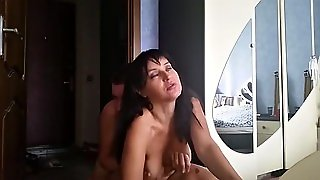 Horny Cougar Mouth Fucked