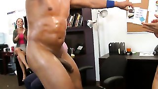 Office Party Cock Blowout Stripper