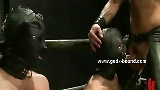 Master And Slave In Threesome Bdsm Sex