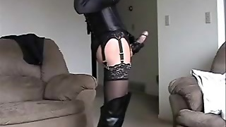 Crossdresser Squirting