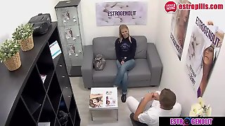 The Tight Pussy Teen Fialova Wants Squirt From The Doctor