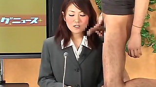 Ejaculate On Female Announcer