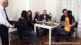 Young Sex Parties - Sex Party With Older Spectator