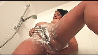 Mature Big Tits In The Shower