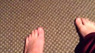Solo Masturbation For Foot Fetish
