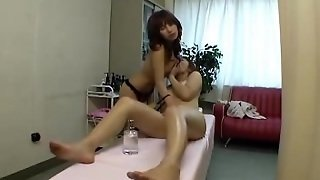 Japanese Lessbians Massage - 2