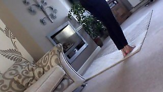 Blonde Farting Around The House