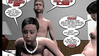 3D Comic: Breaking Up Is Hard To Do!