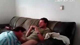 Blonde Dude Sexting Video Of His Boyfriend Giving Rimjob