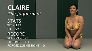 Nude Fighters Wrestle - Loser Gets Fucked