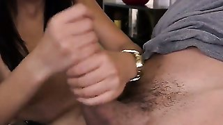 Alina Li Gives A Blow Job