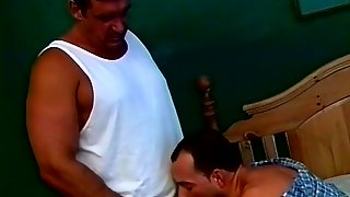 Daddy Bear Whips Out His Dick For A Blowjob