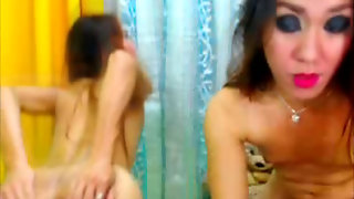 Shemale Ladies In A Hot Anal Show
