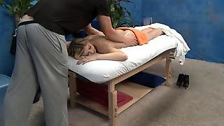 Another Victim On The Massage Table