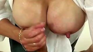 Lady Sonia In A Handjob Extravaganza And Get A Cumshot
