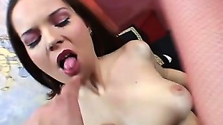 Precious Slut In Red Underwear Tastes Her Vaginal Juice And Really Likes It