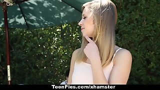 Teenpies - 18Yo Teen Asks Creampie To Stay With Bf