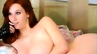 Hot Redhead With Great Tits