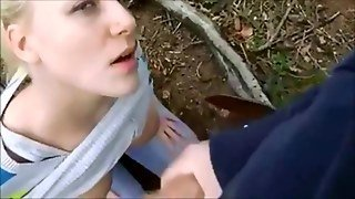 Explosive Facial Cum Shot - Outdoor Action