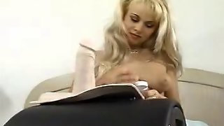 Blonde On Sybian