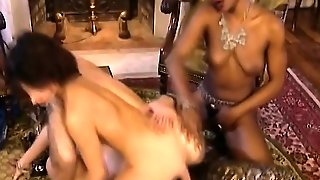African Chicks Blowing Cock
