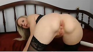 Busty Blonde Milf Playing With Toys Online