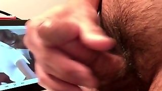 Male Masterbating To Amber Blank