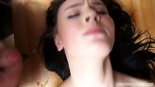 Perfect Gorgeous Creampie Gangbang