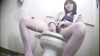 Spy Toilet Room Masturbation