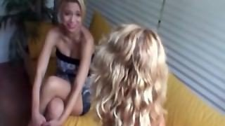 Young Slut Gets Sex Instructions From Milf