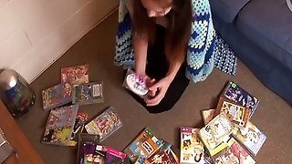 Girls Out West - Adorable Cutie With Toys