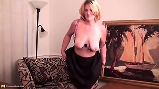 Solo Blonde Mature Is A Sultry Treat
