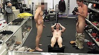 Fitness Trainer Gets Anal Fuck