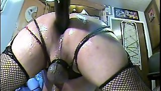 Watch Me Getting Assfucked Doggy Style By Huge Anal Machine And I'm Only 18